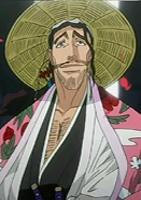 Regarde une feuille de personnage Shunsui